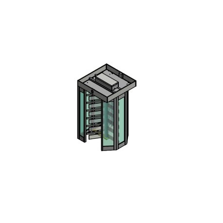 T 2500K Kristal Single 3 Kollu Boy Turnikesi